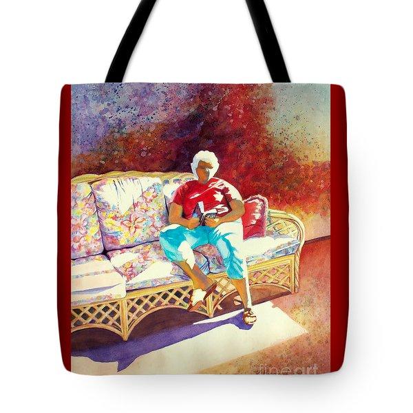Sunny Retreat 3 Tote Bag by Kathy Braud