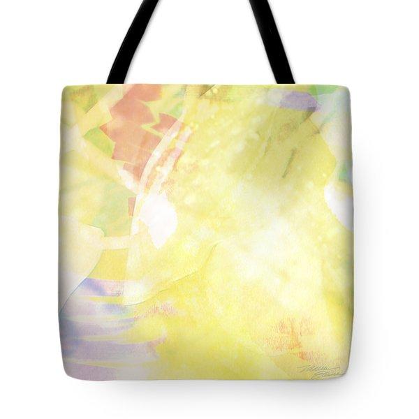 Sunny Tropics Tote Bag by Maria Eames