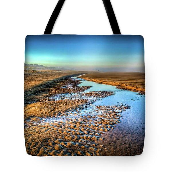 Sunrise At Rockaway Beach Oregon Tote Bag by Spencer McDonald