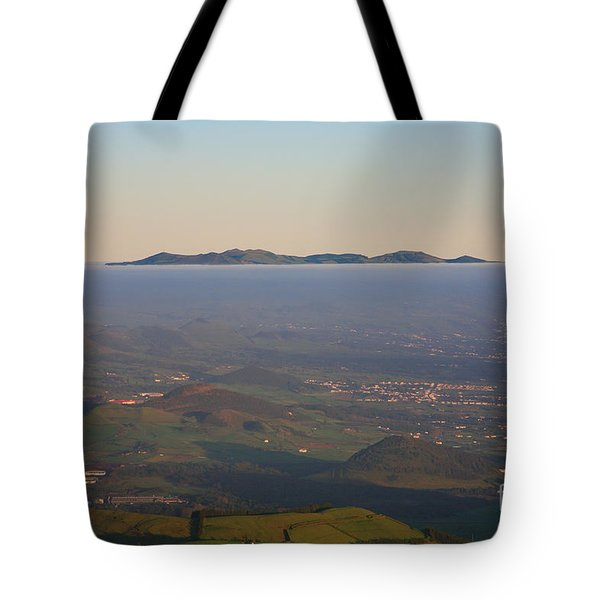 Sunrise At Sao Miguel Island Tote Bag by Gaspar Avila