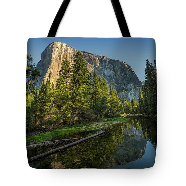 Sunrise On El Capitan Tote Bag by Peter Tellone