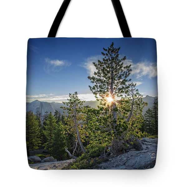 Sunrise On Sentinel Dome Tote Bag by Rick Berk