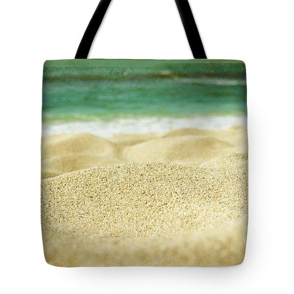 Sunset Beach Tote Bag by Sharon Mau