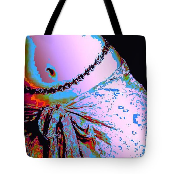 Sunset Dancing Tote Bag by Piety Dsilva