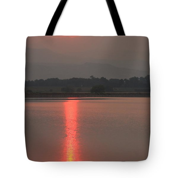 Sunset Fire Tote Bag by James BO  Insogna