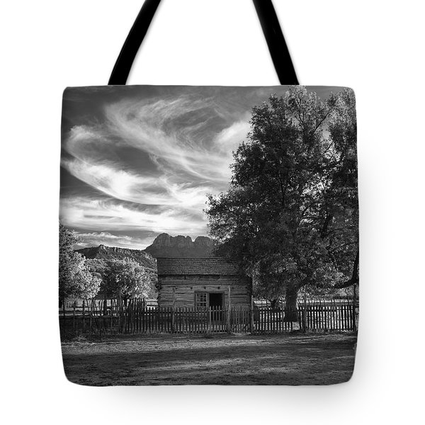 Sunset In Grafton Ghost Town Tote Bag by Sandra Bronstein