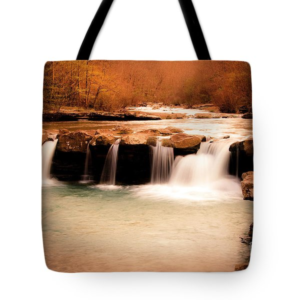 Sunset On King's River Tote Bag by Tamyra Ayles