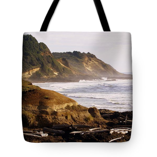Sunset On The Coast Tote Bag by Marty Koch