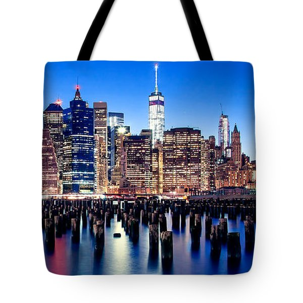 Magic Manhattan Tote Bag by Az Jackson