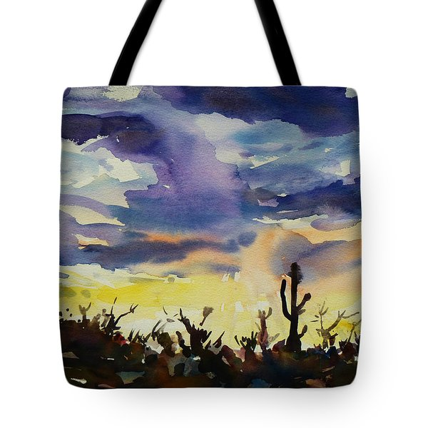 Sunset Sonora Tote Bag by Xueling Zou