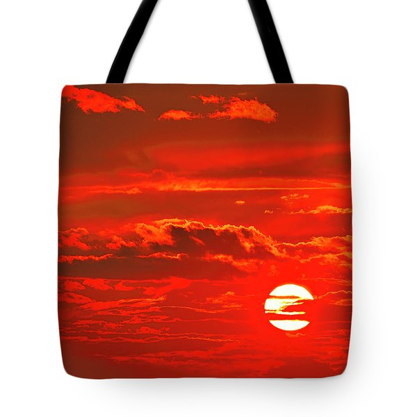 Sunset Tote Bag by Tony Beck