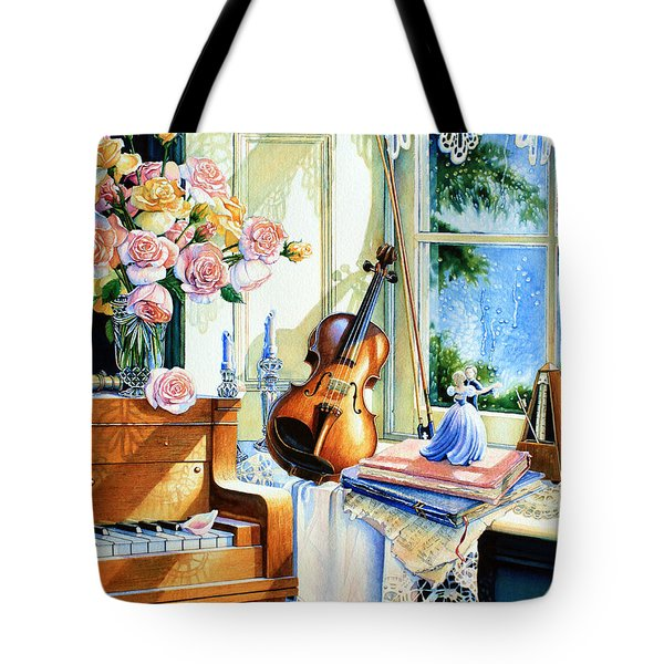 Sunshine And Happy Times Tote Bag by Hanne Lore Koehler