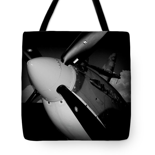 Supermarine Spitfire Mk.ix Tote Bag by David Patterson