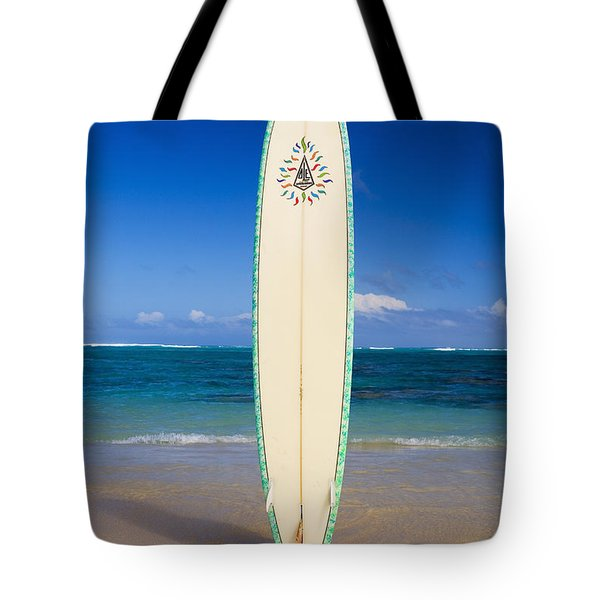 Surfboard Tote Bag by Tomas del Amo - Printscapes