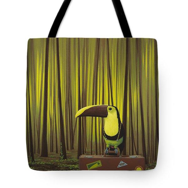 Suspenders Tote Bag by Jasper Oostland
