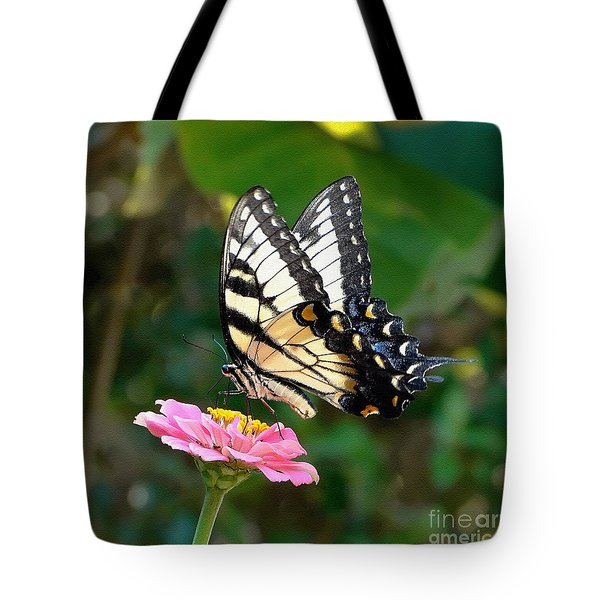 Swallowtail Butterfly 3 Tote Bag by Sue Melvin