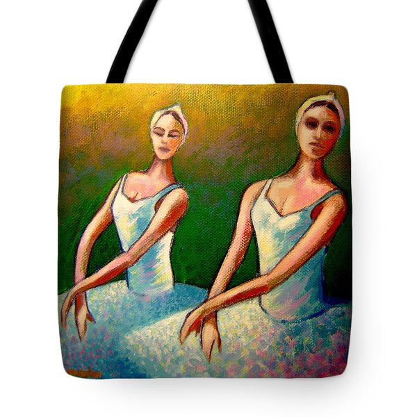 Swan Lake I Tote Bag by John  Nolan