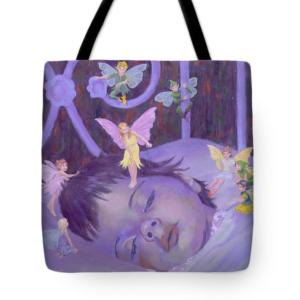 Sweet Dreams Tote Bag by William Ireland