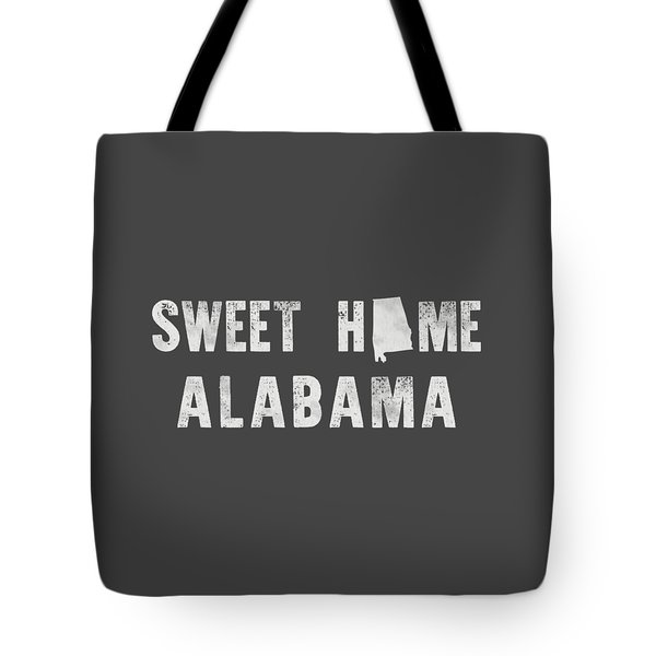 Sweet Home Alabama Tote Bag by Nancy Ingersoll