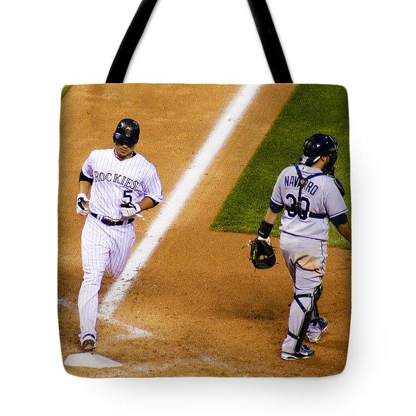 Sweet Success Tote Bag by Marilyn Hunt