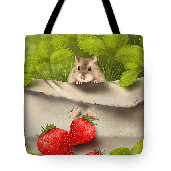 Sweet Surprise Tote Bag by Veronica Minozzi