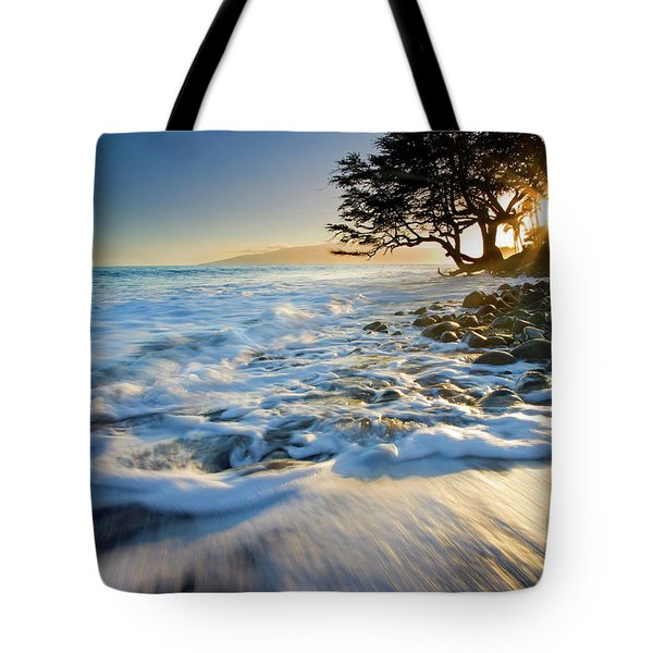 Swept out to Sea Tote Bag by Mike  Dawson