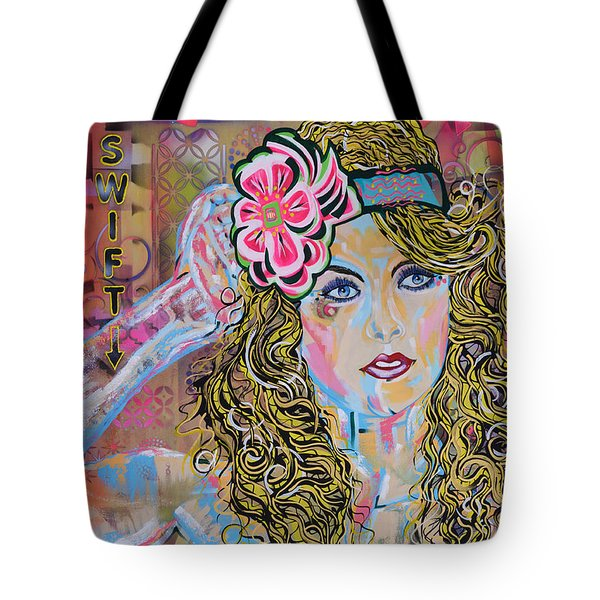 Swift Tote Bag by Heather Wilkerson