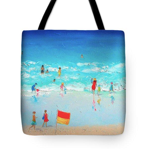 Swim Day Tote Bag by Jan Matson