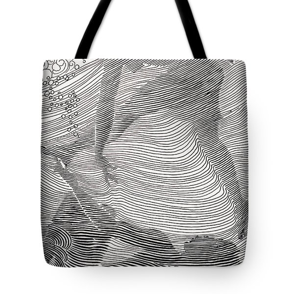 Swimmers Tote Bag by Hawaiian Legacy Archive - Printscapes