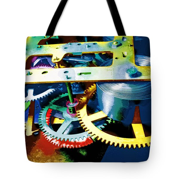 Swiss Movement Tote Bag by Dominic Piperata