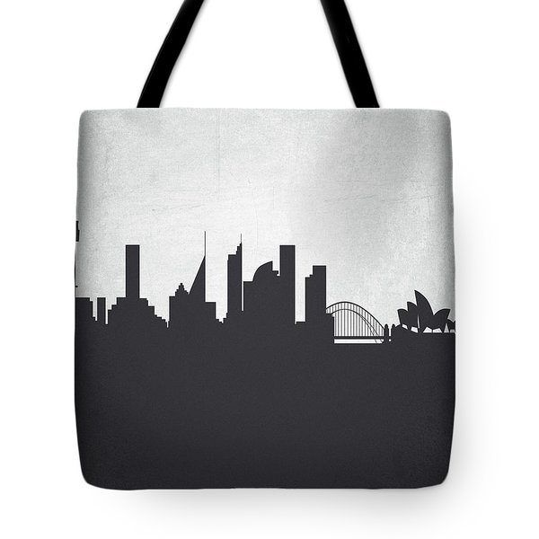 Sydney Australia Cityscape 19 Tote Bag by Aged Pixel