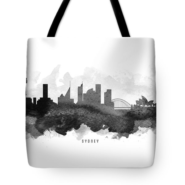 Sydney Cityscape 11 Tote Bag by Aged Pixel
