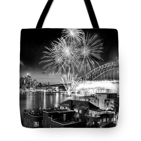 Sydney Spectacular Tote Bag by Az Jackson