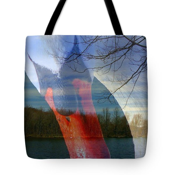 Symbiosis Tote Bag by Priscilla Richardson