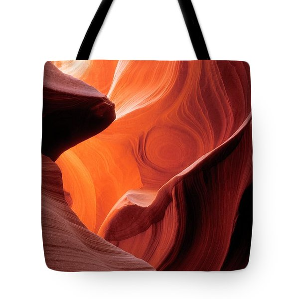 Symphony Of Light Tote Bag by Sandra Bronstein