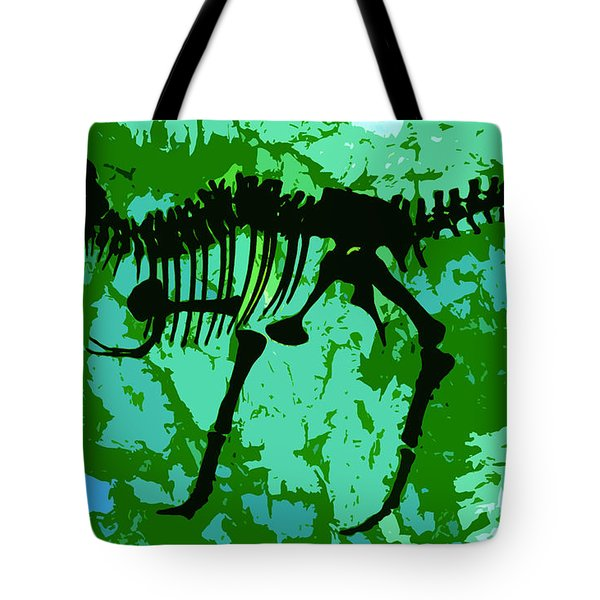 T. Rex Tote Bag by David Lee Thompson