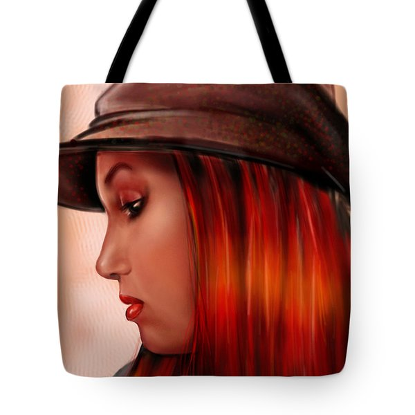 T-whizzle Tote Bag by Pete Tapang