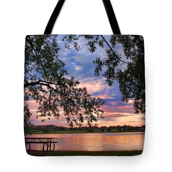 Table For Four With A View Tote Bag by James BO  Insogna