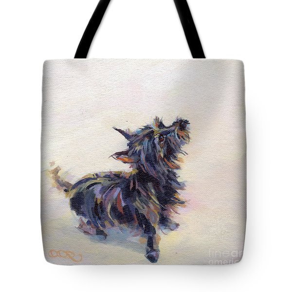 Tail Wagging Fury Tote Bag by Kimberly Santini