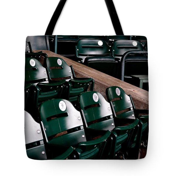Take Me Out to the Ball Game Tote Bag by Michelle Calkins