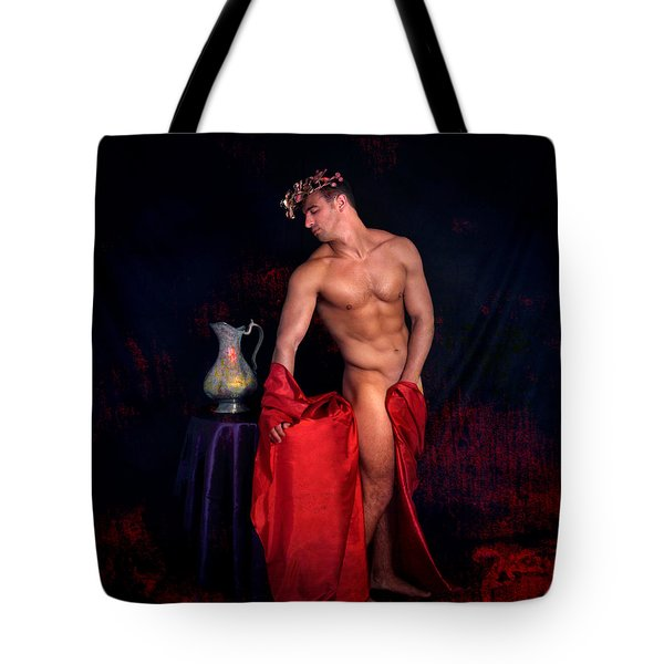 Talk About It Tote Bag by Mark Ashkenazi