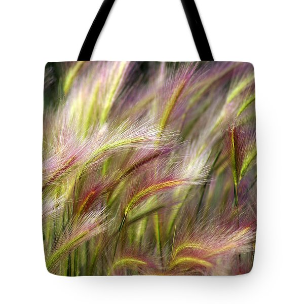 Tall Grass Tote Bag by Marty Koch
