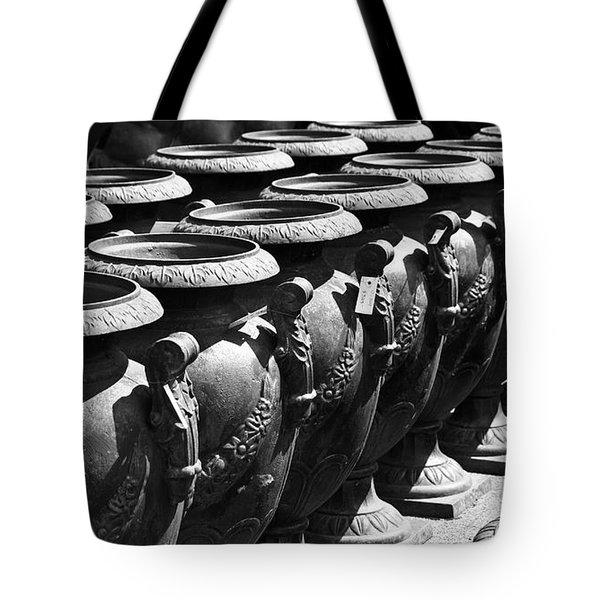 Tall Urns Tote Bag by Teresa Mucha