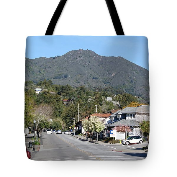 Tamalpais From Mill Valley Tote Bag by Ben Upham