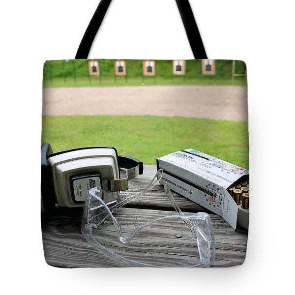 Target Practice Tote Bag by Kristin Elmquist