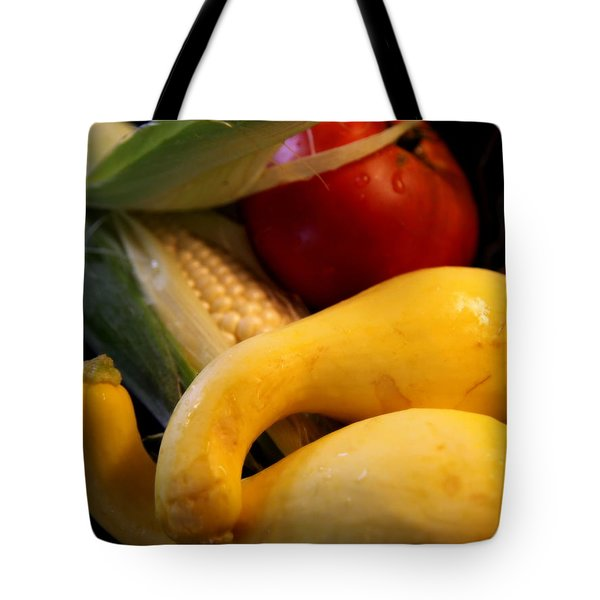 Taste of Summer Tote Bag by KAREN WILES