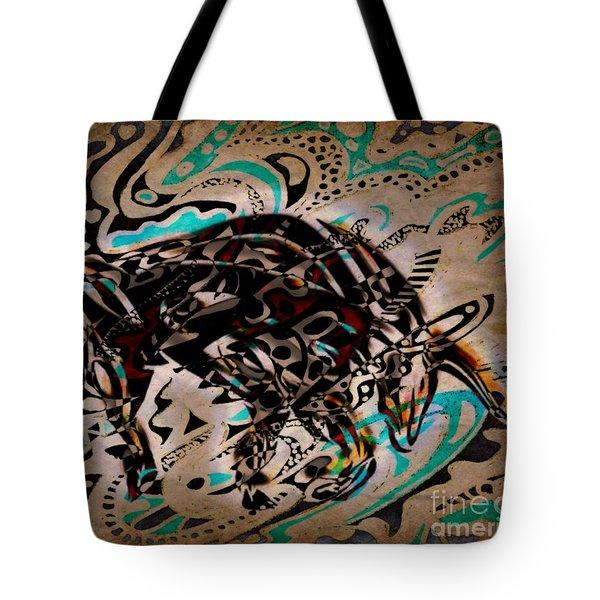 Taurus Tote Bag by WBK