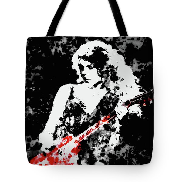 Taylor Swift 90c Tote Bag by Brian Reaves
