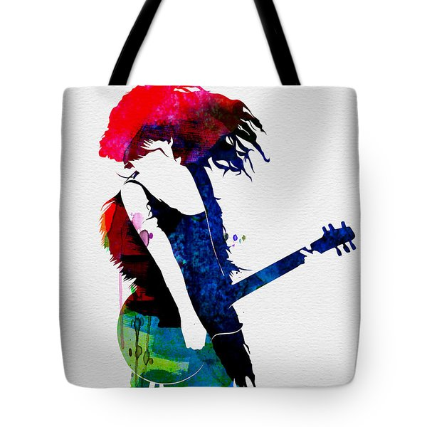 Taylor Watercolor Tote Bag by Naxart Studio