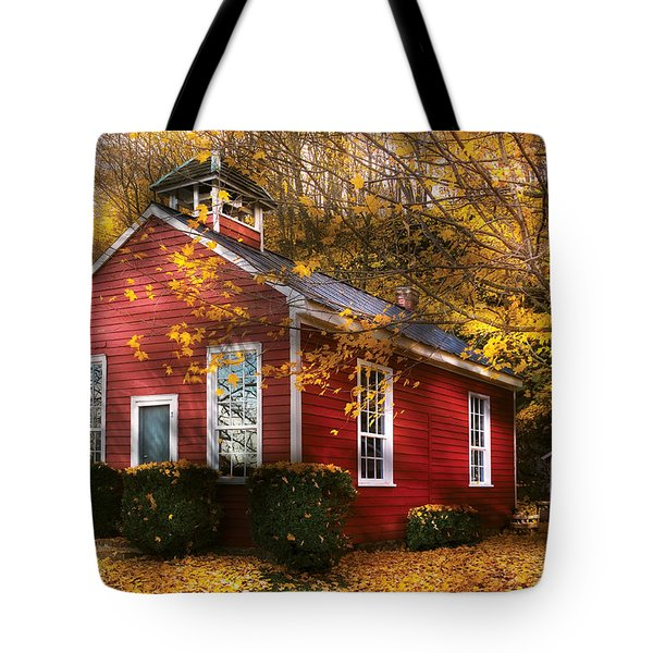 Teacher - School Days Tote Bag by Mike Savad